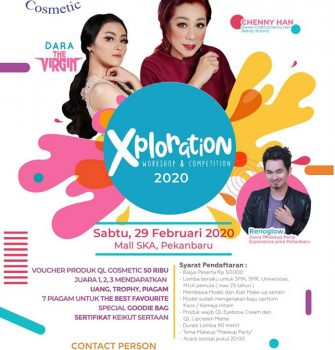 XPLORATION WORKSHOP & COMPETITION 2020 QL Cosmetic